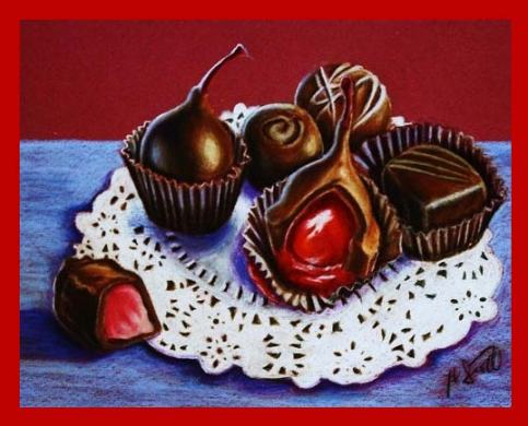 chocolate drawing