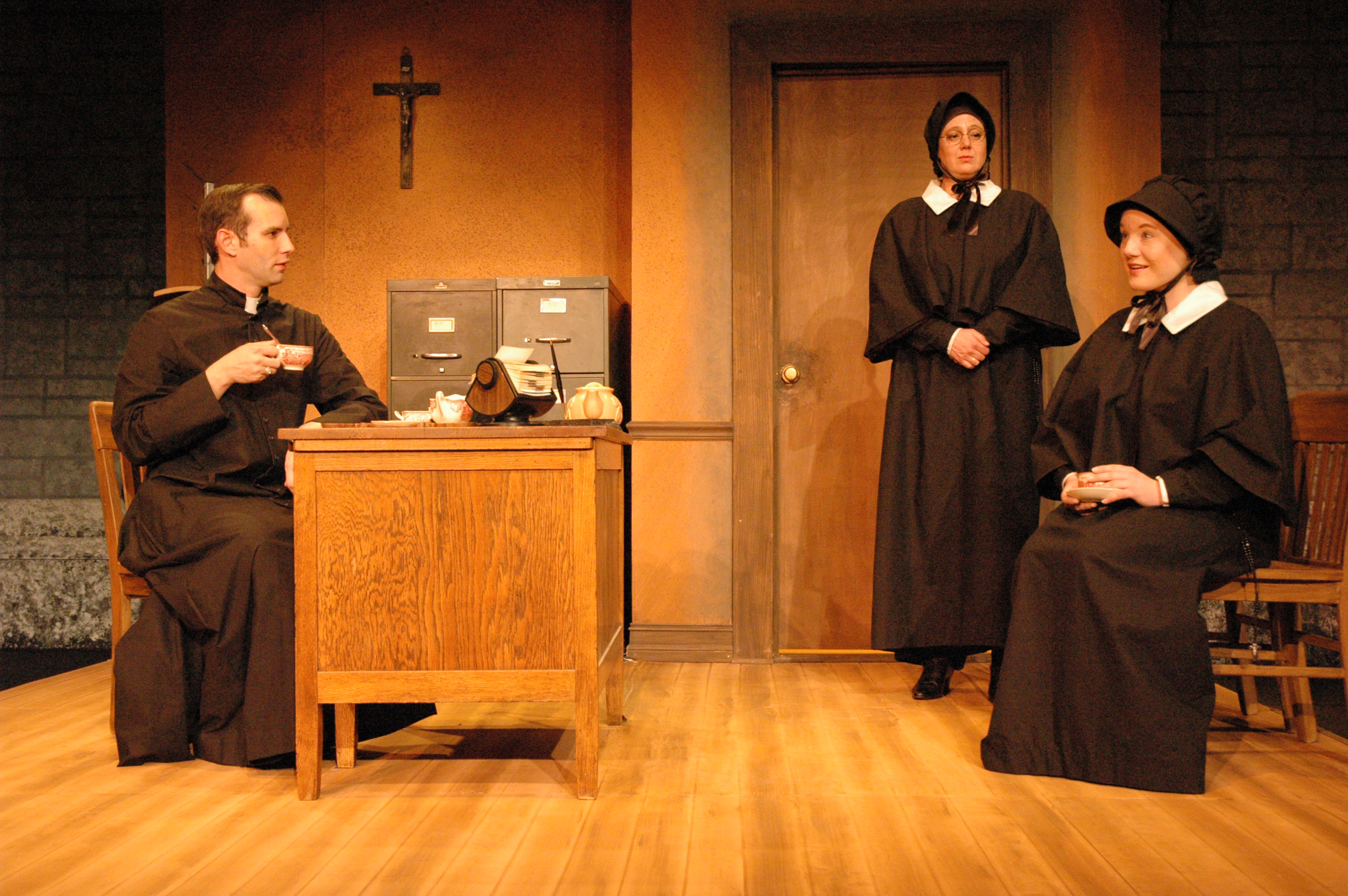 doubt by shanley motives of sister Doubt: poignant performances in a story well told so goes doubt, the new film adapted and directed by john patrick shanley from his pulitzer sister aloysius' motives, and the impact that vigilance toward sin has upon the faithful.