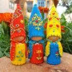 gnomes by Dorene Kordal