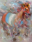 Joyful Spirit, 36x48 inches, acrylic on canvas