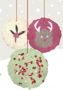 Paper Pulp Ornaments